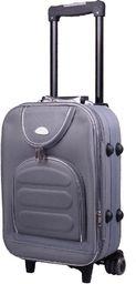 PELLUCCI Mała kabinowa walizka PELLUCCI 801 S - Szara uniwersalny