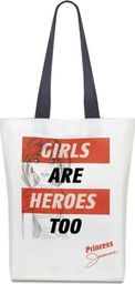 MCD Torba na zakupy - Princess. Girls are heroes