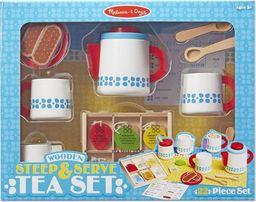 Melissa & Doug Drewniany zestaw do herbaty