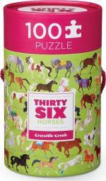 Crocodile Creek Puzzle 100 elementów - Konie