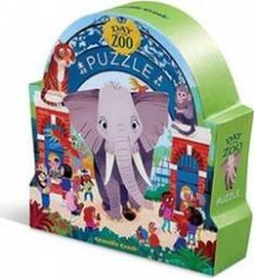 Crocodile Creek Puzzle 48 elementów Dzień w muzeum - Zoo