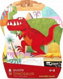 Crocodile Creek Puzzle 72 elementów - Dinozaury