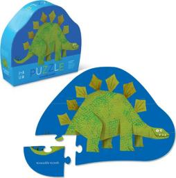 Crocodile Creek Puzzle 12 elementów  - Stegozaurus