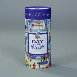 Crocodile Creek Puzzle 72 elementy Dzień w muzeum - Kosmos