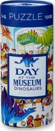 Crocodile Creek Puzzle 72 elementy Dzień w muzeum - Dinozaury