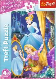 Trefl Puzzle 54 mini Przygody księżniczek 4