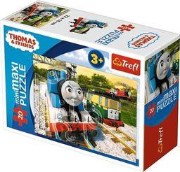 Trefl Puzzle 20 miniMaxi Tomek podróżnik 3