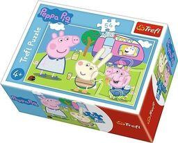 Trefl Puzzle 54 mini Wesoły dzień Świnki Peppy 4
