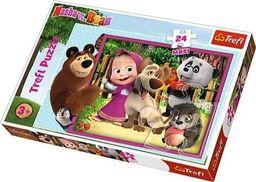 Trefl Puzzle 24 maxi Masza i Niedźwiedź