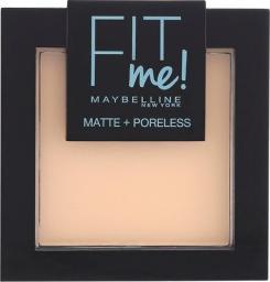 Maybelline  Puder do twarzy Fit Me Matte Poreless Pressed Powder 104 Soft Ivory 9g