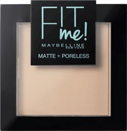 Maybelline  Puder do twarzy Fit Me Matte Poreless Pressed Powder 105 Natural Ivory 9g