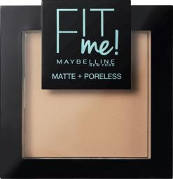 Maybelline  Puder do twarzy Fit Me Matte Poreless Pressed Powder 120 Classic Ivory 9g