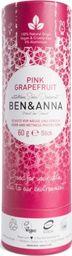 Ben&Anna Dezodorant Datural Soda Deodoran Pink Grapefruit 60g
