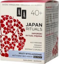 AA Krem do twarzy Japan Rituals 40+ wygładzający 50ml