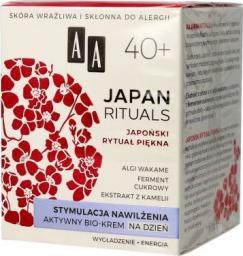 AA Krem do twarzy Japan Rituals 40+ nawilżający 50ml