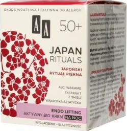 AA Krem do twarzy Japan Rituals 50+ liftingujący 50ml