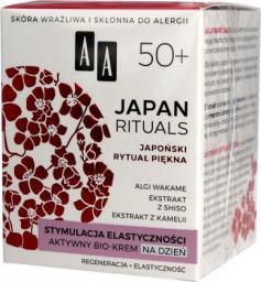 AA Krem do twarzy Japan Rituals 50+ stymulacja elastyczności 50ml