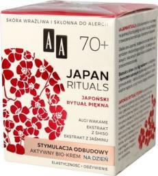 AA Krem do twarzy Japan Rituals 70+ stymulacja odbudowy 50ml