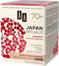 AA Krem do twarzy Japan Rituals 70+ wzmacniajacy 50ml