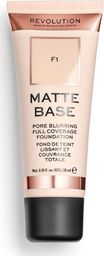 Makeup Revolution Matte Base Fundation F1 28ml