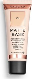 Makeup Revolution Matte Base Fundation F6 28ml