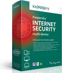 Kaspersky Lab Internet Security PL Multi-Device 2 stanowiska 1 rok BOX (KL1941PBBFS)