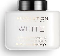 Makeup Revolution Puder sypki,  Loose Baking Powder White, 32 g