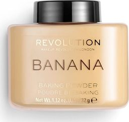 Makeup Revolution Puder sypki, Loose Baking Powder Banana, 32 g