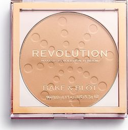 Makeup Revolution Puder w kamieniu Bake & Blot Beige