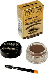 Eveline Eveline Eyebrow Pomade Pomada do brwi Soft Brown  1szt