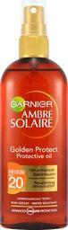 Garnier Olejek do opalania Ambre Solaire Golden Protect SPF20 150ml