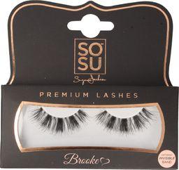 SOSU SOSU Premium Lashes Sztuczne rzęsy Brooke - 100% naturalne  1op.