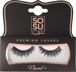 SOSU SOSU Premium Lashes Sztuczne rzęsy Naomi - 100% naturalne  1op.