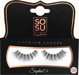 SOSU SOSU Premium Lashes Sztuczne rzęsy Sophia - 100% naturalne  1op.