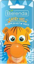Bielenda Bielenda Crazy Kiss Balsam do ust w kulce Tygrys  8.5g