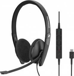 Słuchawki z mikrofonem Sennheiser Słuchawki SC 160 USB Skype for Business-508315