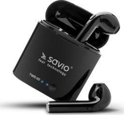 Słuchawki Elmak Bezprzewodowe  Bluetooth v.4.2 z mikrofonem i power bankiem TWS-02