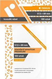 "Rebel Koszulki na karty (57.5x89 mm) ""Standard American Premium"" 100 sztuk"