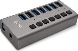 HUB USB I-TEC Hub USB 3.0 z ładowaniem, 7 portów, 36W -U3CHARGEHUB7