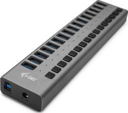 HUB USB I-TEC Hub USB3.0 z ładowaniem, 16 portów, 90W -U3CHARGEHUB16