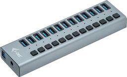 HUB USB I-TEC Hub USB3.0 z ładowaniem, 13 portów, zasilacz 60W-U3CHARGEHUB13