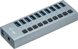HUB USB I-TEC Hub USB3.0 z ładowaniem, 10 portów-U3CHARGEHUB10