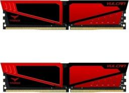 Pamięć Team Group Vulcan, DDR4, 8 GB,2666MHz, CL15 (TLRED48G2666HC15BDC01)