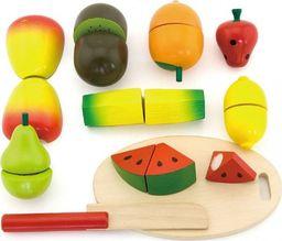 Viga Viga Drewniany Zestaw Owoce do Krojenia Nóż Deska