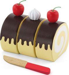 Viga Viga Drewniane Ciasto do krojenia + Nóż