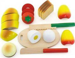 Viga Viga Drewniany Zestaw śniadaniowy do krojenia Deska 2 Noże