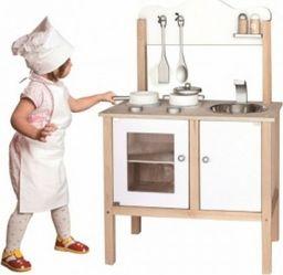 Viga Viga Drewniana Klasyczna kuchnia z akcesoriami