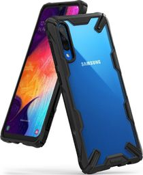 Ringke Ringke Fusion X etui pancerny pokrowiec z ramką Samsung Galaxy A70 czarny (FUSG0025) uniwersalny