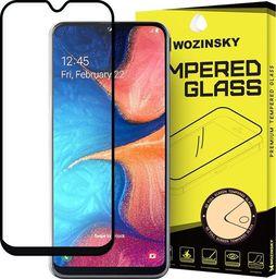 Wozinsky Szkło hartowane Full Glue na cały ekran z ramką Case Friendly Samsung Galaxy A20e czarny uniwersalny