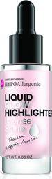 BELL Bell Hypoallergenic Liquid Glow Highlighter Rozświetlacz w płynie  25g